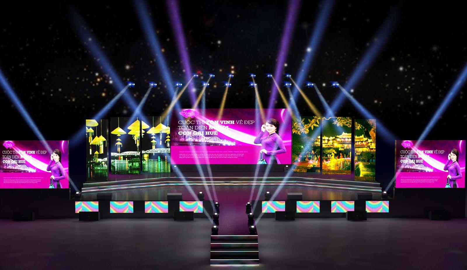 thiết kế sân khấu